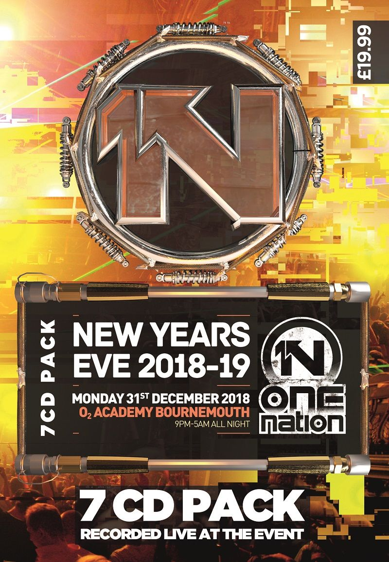 One Nation - New Years Eve 2018 - Cd Pack