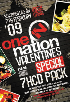 One Nation Valentines 2009 CD Pack