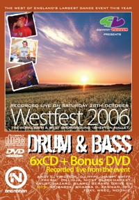 Slammin Vinyl Westfest 2006 Drum & Bass CD Pack
