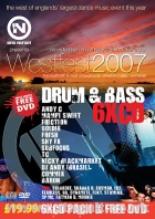 Slammin Vinyl Westfest 2007 Drum & Bass CD Pack