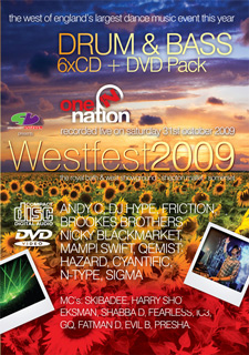 Slammin Vinyl Westfest 2009 Drum & Bass CD Pack