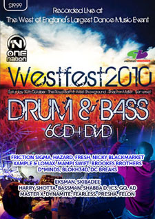 Slammin Vinyl Westfest 2010 Drum & Bass CD Pack
