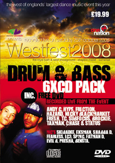 Westfest - 2008 Drum & Bass CD Pack