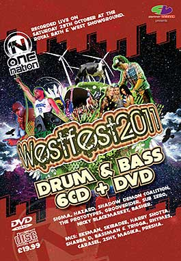 Westfest 2011 Drum & Bass CD Pack