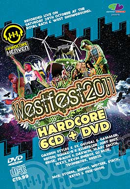 Westfest 2011 Hardcore CD Pack