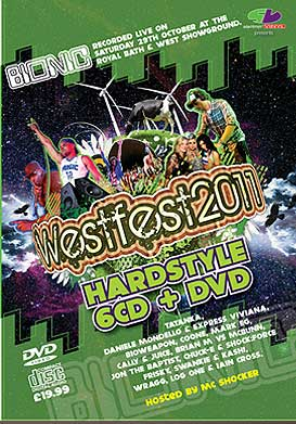 Westfest 2011 Hardstyle CD Pack