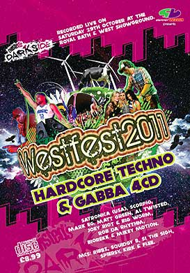 Westfest 2011 Techno & Gabba CD Pack